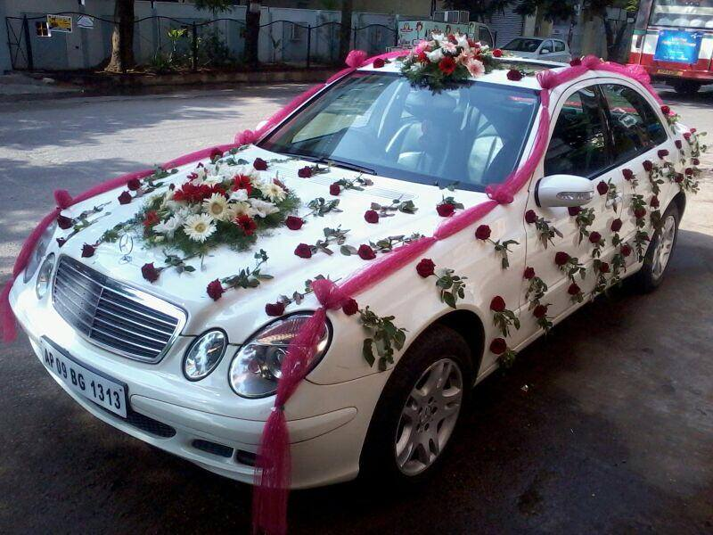 Wedding Cars Gallery Wedding Events Wedding Car Travels - Audi car decoration